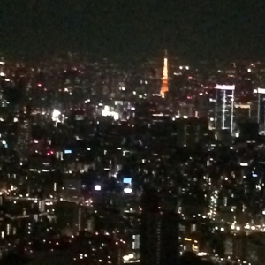 Skytree Tokyo at night.  Yes, that is the Tokyo Tower in the far distance. Photo Source: ionasiatrend.com